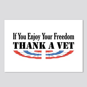 Thank a Vet Postcards (Package of 8)