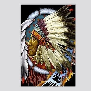 CHIEF WHITE CLOUD Postcards (Package of 8)