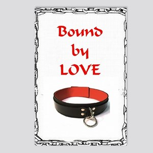 bondage bound by love Postcards (Package of 8)
