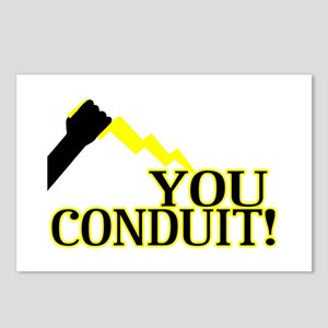 You Conduit Postcards (Package of 8)