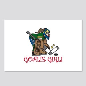 Goalie Girl Postcards (Package of 8)