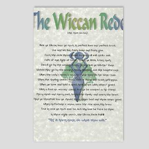 Wiccan Rede Postcards - CafePress