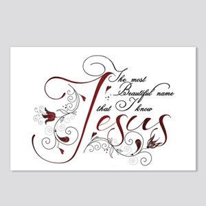 Beautiful name of Jesus Postcards (Package of 8)