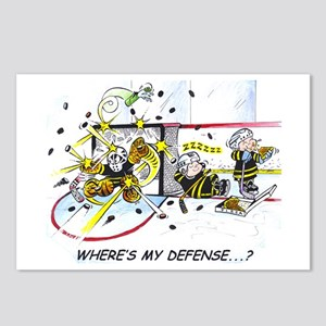 Where's My Defense? Postcards (package Of 8)