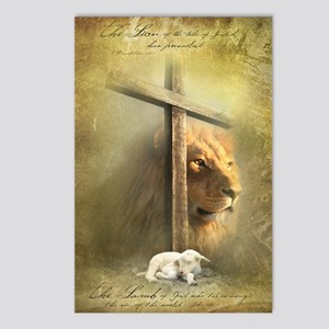 Lion of Judah, Lamb of Go Postcards (Package of 8)