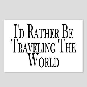 World Travel Postcards - CafePress