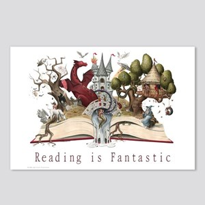 Reading is Fantastic II Postcards (Package of 8)