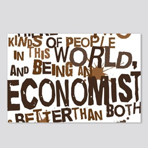 economist_two_brown Postcards (Package of 8)