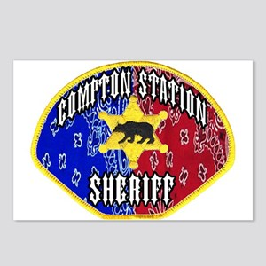 Compton Sheriff Postcards (Package of 8)