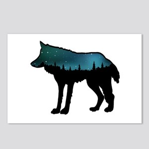 WOLF NIGHTLY Postcards (Package of 8)