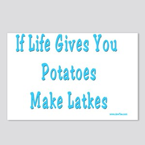 Make Latkes Postcards (Package of 8)