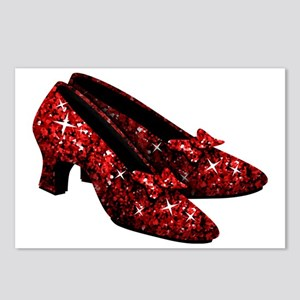 ruby-slippers Postcards (Package of 8)