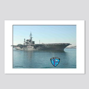 USS Midway Postcards (Package of 8)