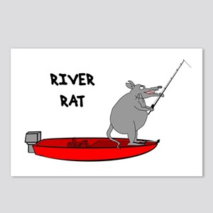 River Rat Postcards (Package of 8)