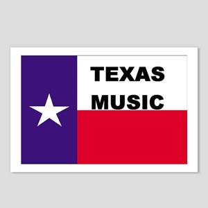 Texas Music Postcards (Package of 8)