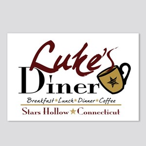 Luke's Diner Postcards (Package of 8)