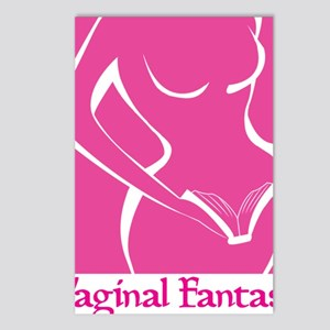 Vaginal Fantasy Tall Logo Postcards (Package of 8)