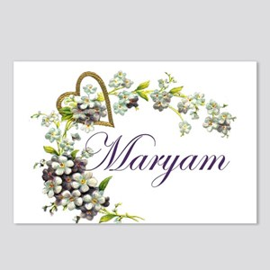 Maryam Name Postcards - CafePress