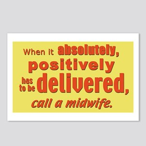 Midwife Postcards (Package of 8)