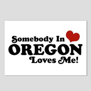 Somebody in Oregon Loves Me Postcards (Package of