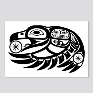 Raven Native American Design Postcards (Package of