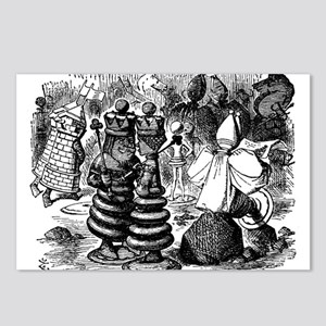 Alice's Chess Pieces Postcards (Package of 8)