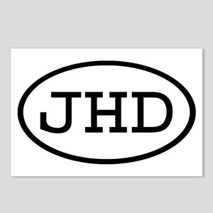 JHD Oval Postcards (Package of 8)