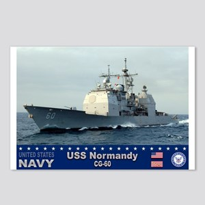 USS Normandy CG-60 Postcards (Package of 8)