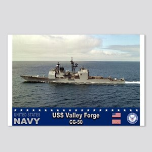 USS Valley Forge CG-50 Postcards (Package of 8)