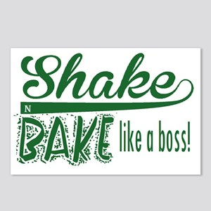 ShakenBake:like a boss Postcards (Package of 8)