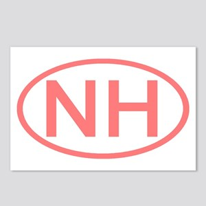 NH Oval - New Hampshire Postcards (Package of 8)