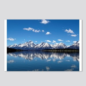 GRAND TETON - JACKSON LAKE Postcards (Package of 8