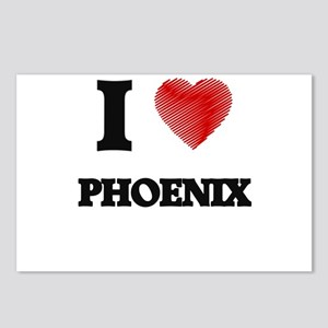 I Love Phoenix Postcards (Package of 8)