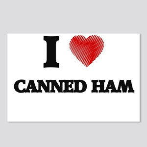 I love Canned Ham Postcards (Package of 8)