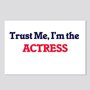 Trust me, I'm the Actress Postcards (Package of 8)