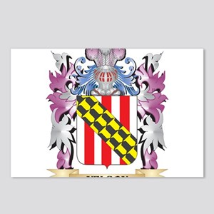 Nelson Coat of Arms - Fam Postcards (Package of 8)