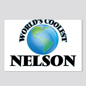World's Coolest Nelson Postcards (Package of 8)