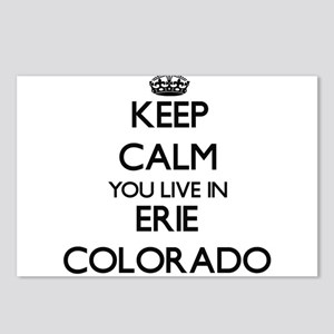 Keep calm you live in Eri Postcards (Package of 8)