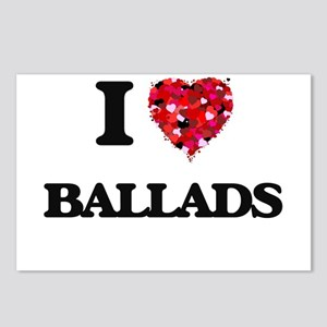 I Love Ballads Postcards (Package of 8)