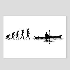0307309d Kayaking Postcards (Package of 8)