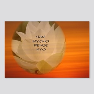 SGI Buddhist NMRK Postcards (Package of 8)