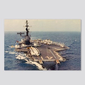 uss midway cva framed pan Postcards (Package of 8)