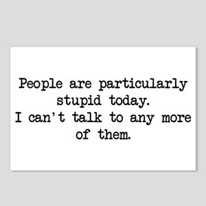 People Particularly Stupid Postcards (Package of 8