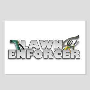 Garden Lawn Enforcer Postcards (Package of 8)