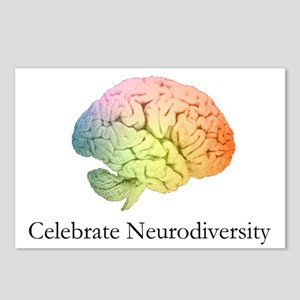 Celebrate Neurodiversity Postcards (Package of 8)