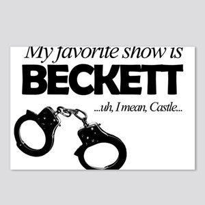 """My Favorite Show Is Beckett"" Postcards (Package o"