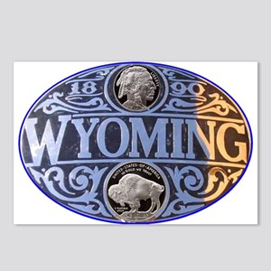 WYOMING Postcards (Package of 8)