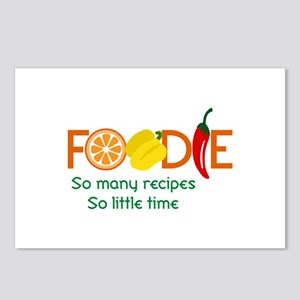 so many recipes Postcards (Package of 8)