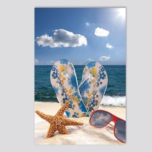 Summer Beach Vacation Postcards (Package of 8)