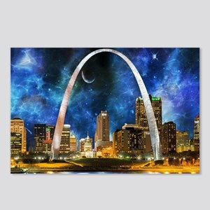 Spacey St. Louis Skyline Postcards (Package of 8)